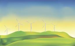 风力 免版税库存图片