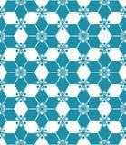 导航花卉现代无缝的五颜六色的几何样式,颜色抽象几何背景 免版税库存图片