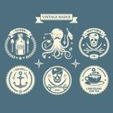 导航设计元素,企业标志,身分,标签,徽章 免版税库存图片