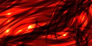 导航黑暗的褐红的线发光的红色背景  向量例证
