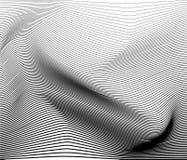 导航monohrome镶边的表面抽象背景的例证 免版税库存照片