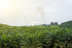 导致的大气污染 库存图片