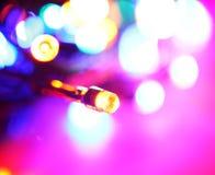 导致的电灯泡 图库摄影