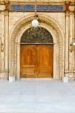 导致穆罕默德・阿里巴夏清真寺庭院的门  免版税库存图片
