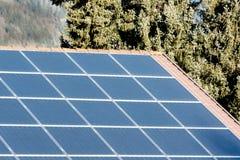 导致substainable能量的太阳系 免版税库存照片