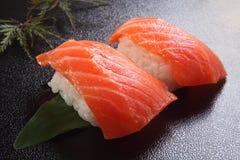 寿司三文鱼 免版税库存图片