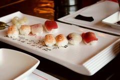 寿司亚洲人食物 库存图片