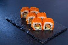 寿司卷与 日本食物 14 免版税库存照片