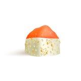 寿司卷传染媒介象 食物日本菜单、米和海鲜 亚洲食物 图库摄影