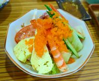 寿司开胃菜特写镜头 库存图片
