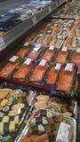 寿司新鲜市场 免版税库存图片