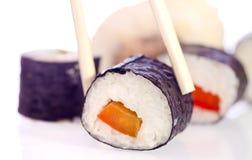 寿司日本人盘 免版税库存照片