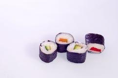 寿司日本人盘 免版税图库摄影