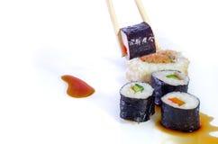 寿司日本人盘 库存图片