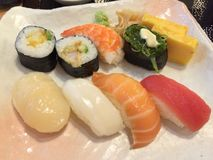 寿司日本人食物 免版税库存图片