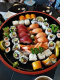 寿司日本 免版税库存照片