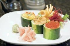 寿司样式 库存图片