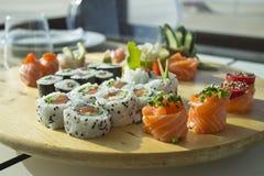 寿司桌 库存图片