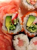 寿司混合 免版税库存图片
