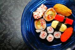 寿司种类 免版税图库摄影