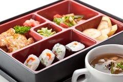 寿司箱子 库存图片