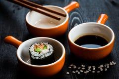 寿司膳食 免版税库存图片