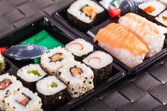 寿司自助餐 免版税库存照片