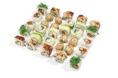 寿司铺石32 psc 库存图片