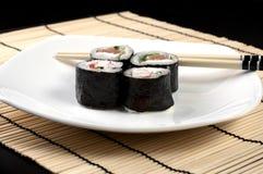 寿司集合 免版税图库摄影