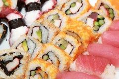 寿司集 库存图片