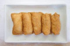 寿司风味煮沸的米 免版税库存照片
