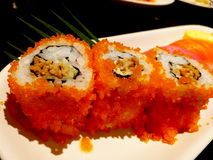 寿司食物集合 免版税库存照片