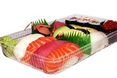 寿司饭菜外卖点 图库摄影