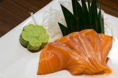 寿司,生鱼片,日本食物 免版税库存照片