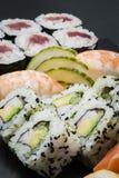 寿司组装 免版税库存照片