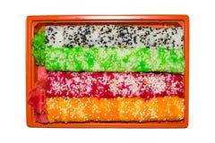 滚寿司 免版税图库摄影