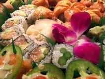 滚寿司 免版税库存图片