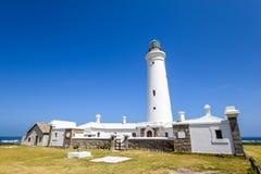 封印在海角圣法兰西斯,东开普省的点灯塔惊人的看法省,南非 库存照片