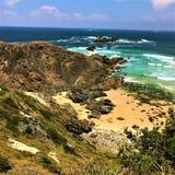 封印岩石新南威尔斯澳大利亚 图库摄影