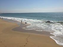 封印海滩 库存图片