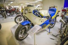 射出被制造的摩托车, mod 1984年,瑞典 库存照片