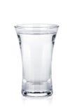 射击俄国伏特加酒 免版税库存图片