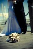 射击婚礼 免版税库存照片