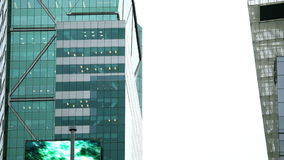 射击时代广场的一个摩天大楼 影视素材