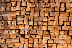 射击木头 免版税库存图片