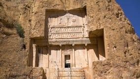 射击波斯国王的历史的大墓地 股票视频