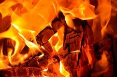 射击火焰 免版税库存照片