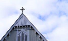 射击葬礼教堂 库存照片