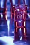 射击龙舌兰酒 免版税库存照片