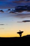 射电天文学观测所 免版税库存照片